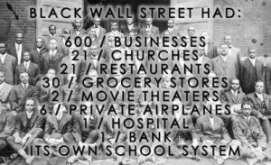 Image result for black wall street oklahoma