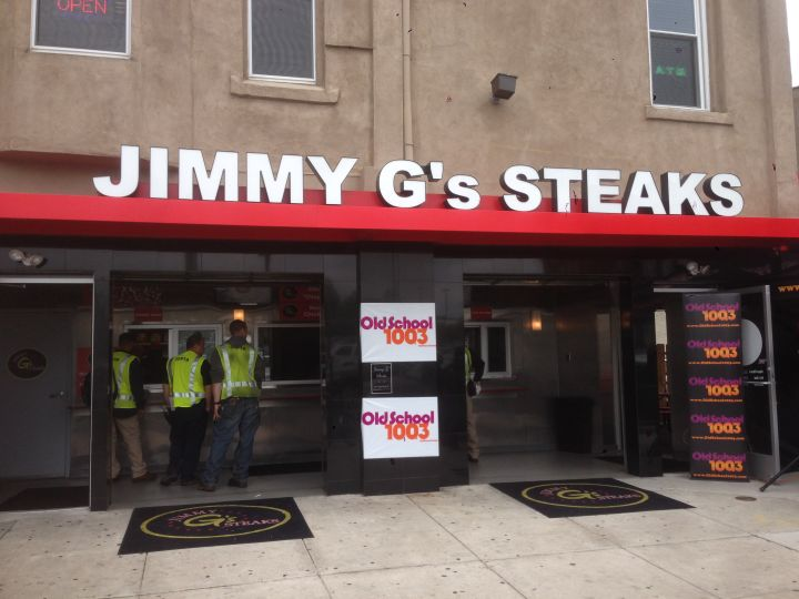 Free Lunch Friday at Jimmy G's