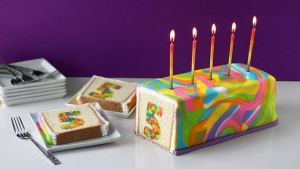 Diy Rainbow Birthday Cake Tutorial Wrnb 100 3 Philly
