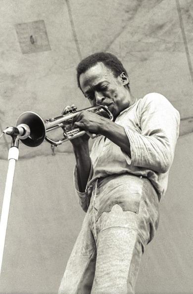 Miles Davis at the Schaefer Music Festival