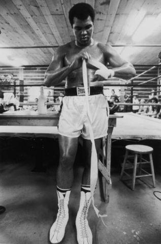 Muhammad Ali at Deer Lake Pennsylvania