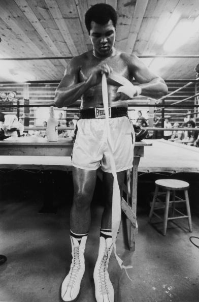 Muhammad Ali at Deer Lake Pennsylvania