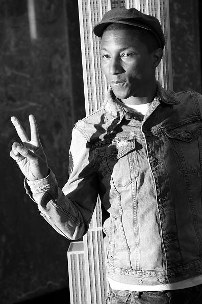 Pharrell Williams at the Empire State Building