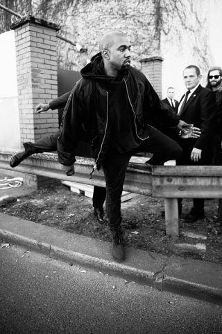 Kanye West Paris France