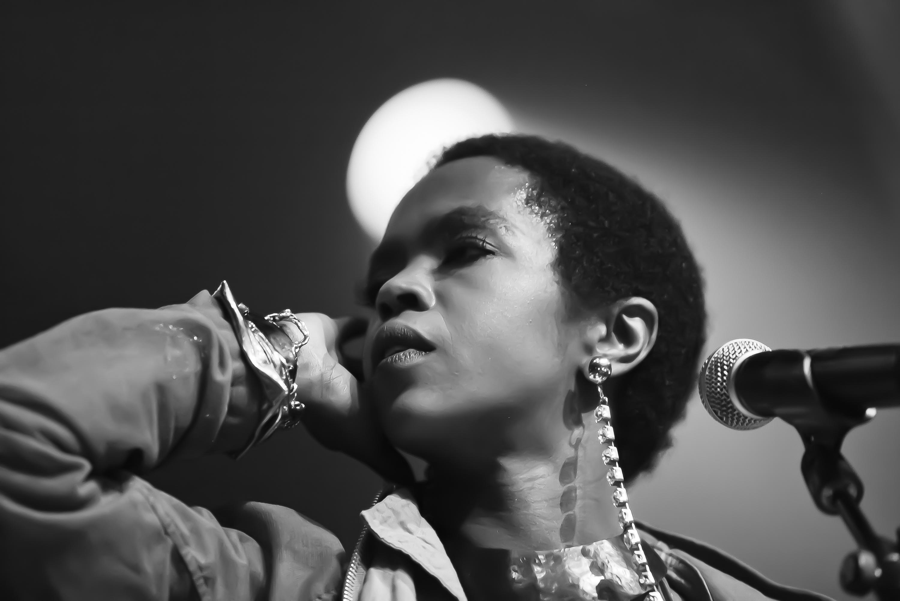 Lauryn Hill Performs In London