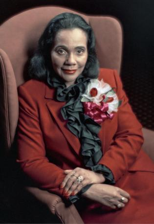 Coretta Scott King Portrait