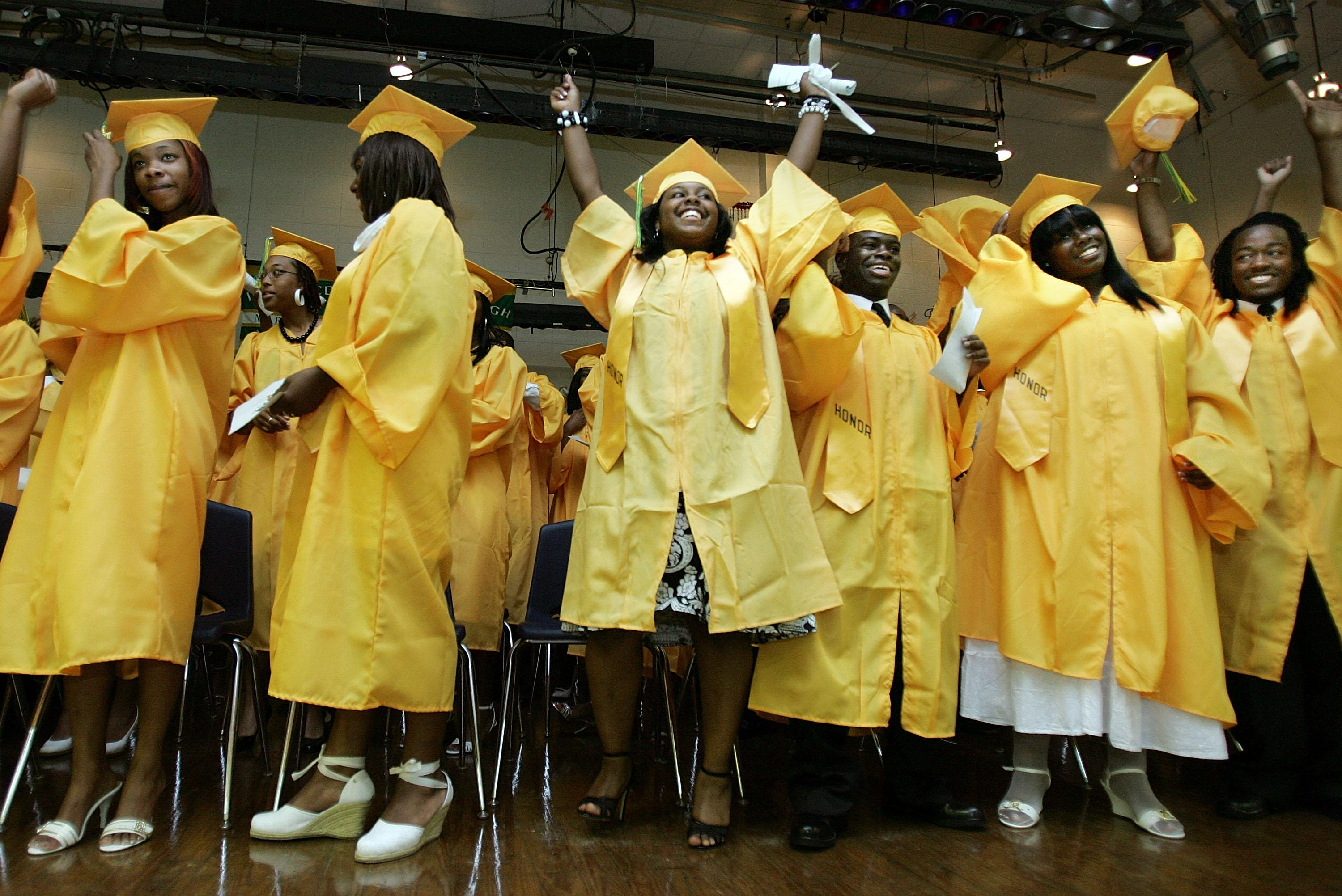 High School Celebrates First Post-Katrina Graduation