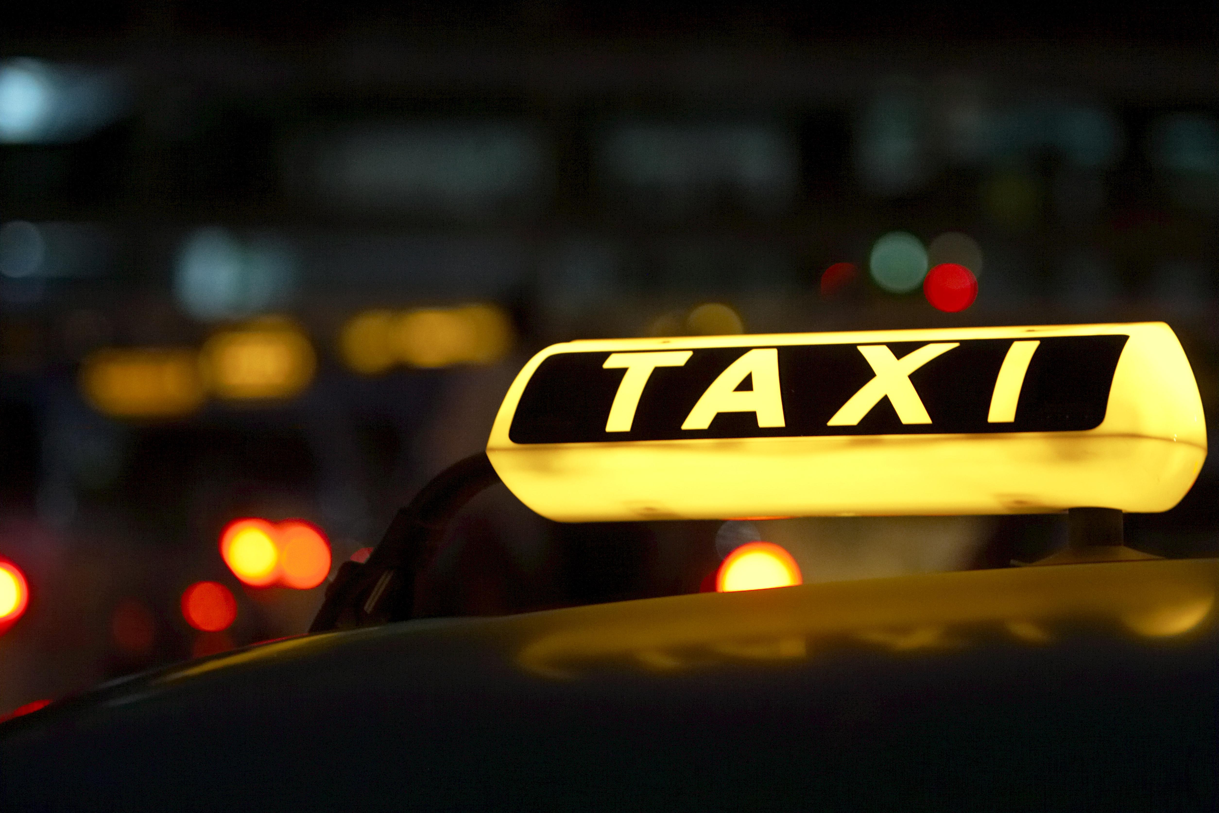Illuminated taxi