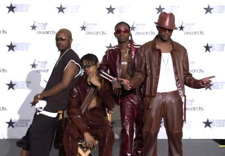 The 1st Annual BET Awards - Press Room