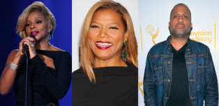 Kenya Barris, Mary J Blige, Queen Latifah