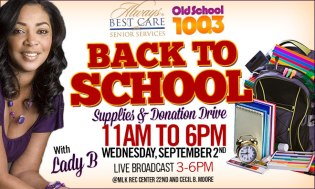 Back to School Supplies & Donation Drive