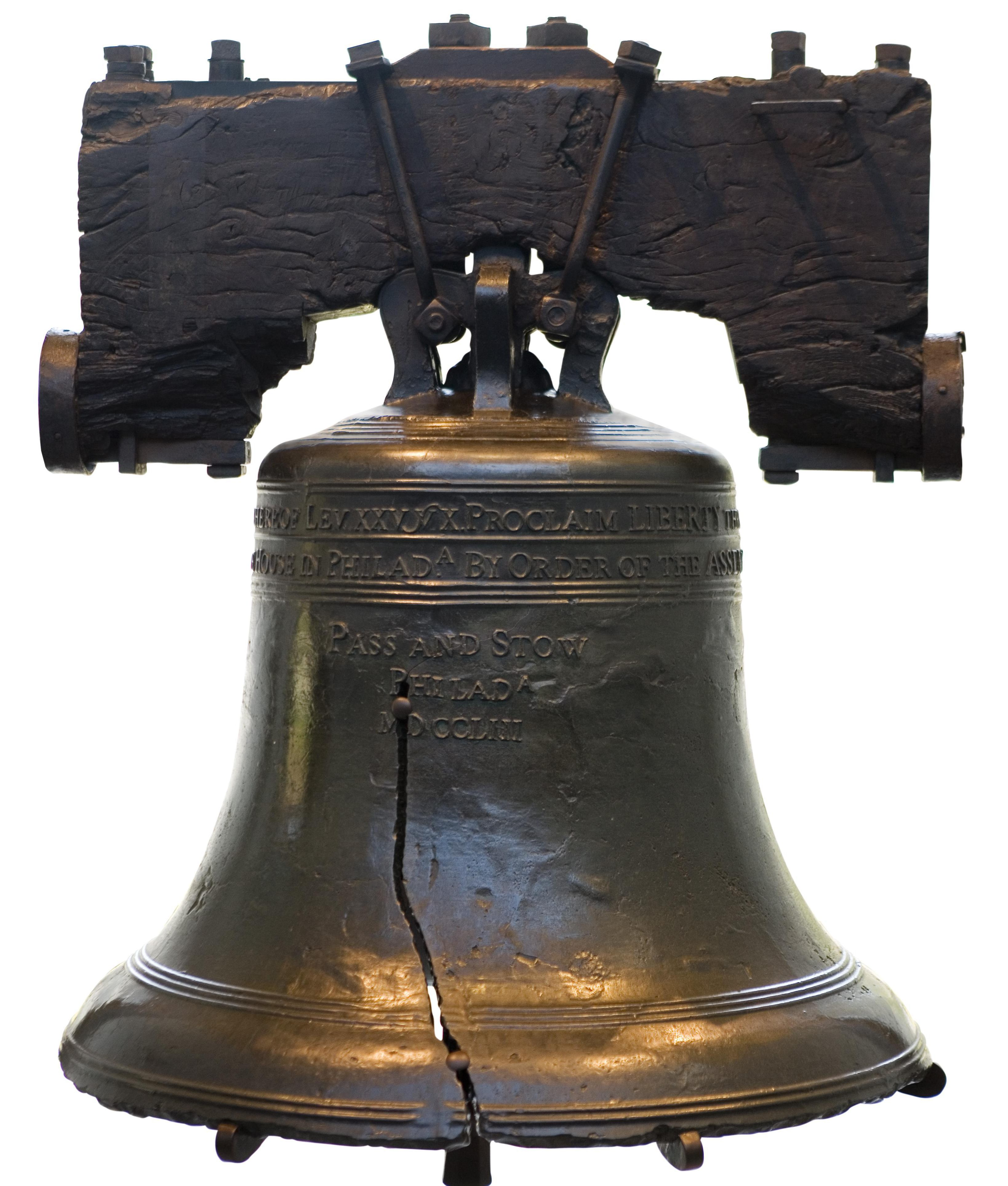 Still life of Liberty Bell