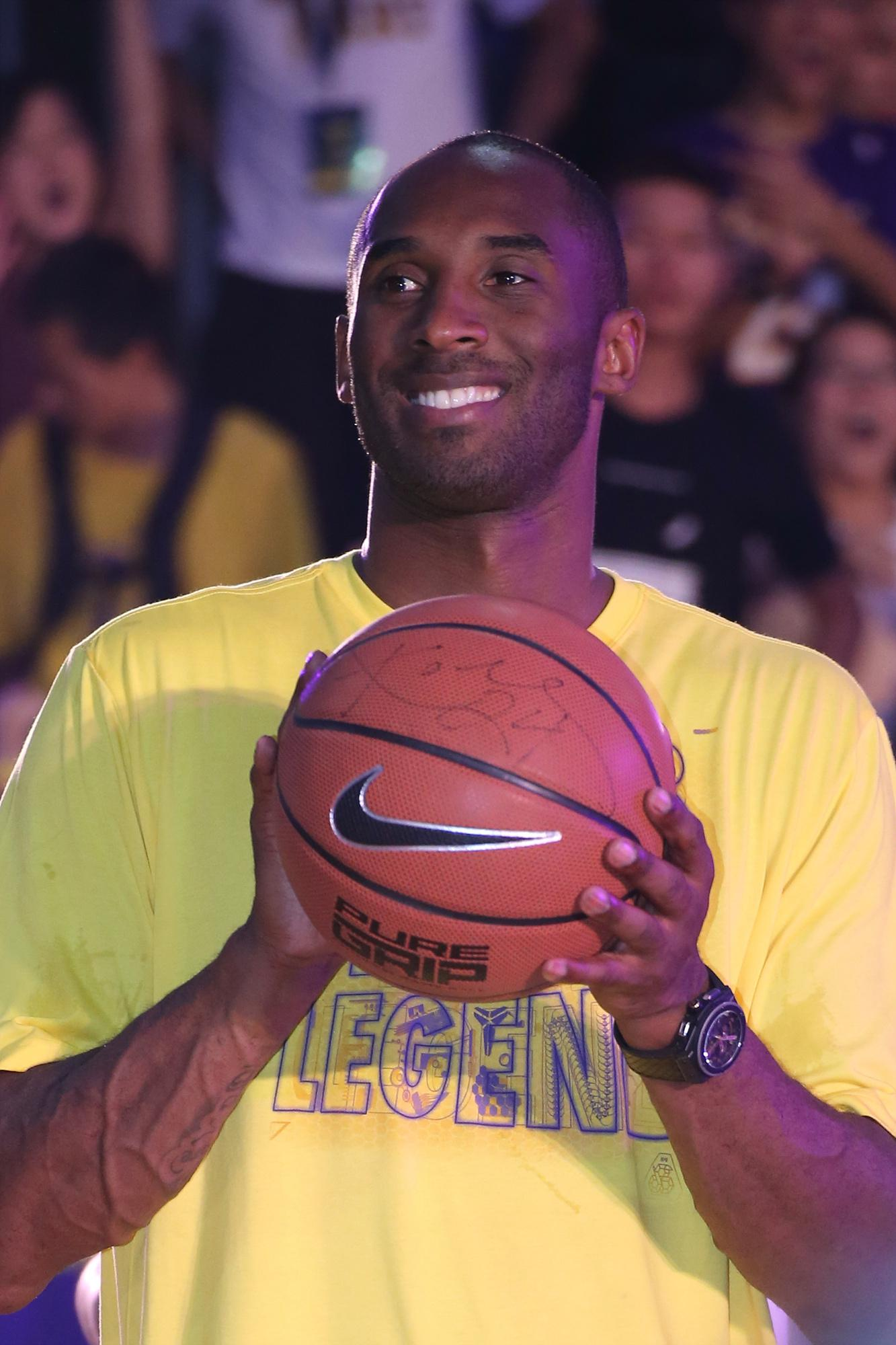 Kobe Bryant Visits China