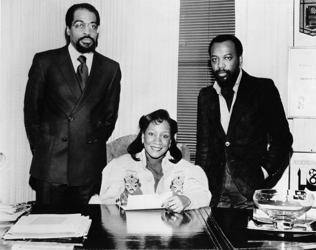 Photo of Leon HUFF and Kenneth GAMBLE and GAMBLE & HUFF and Patti LABELLE