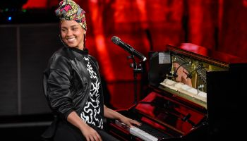 Alicia Keys Performs At 'Che Tempo Che Fa' Tv Show