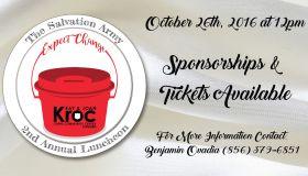 Kroc Center event flyer