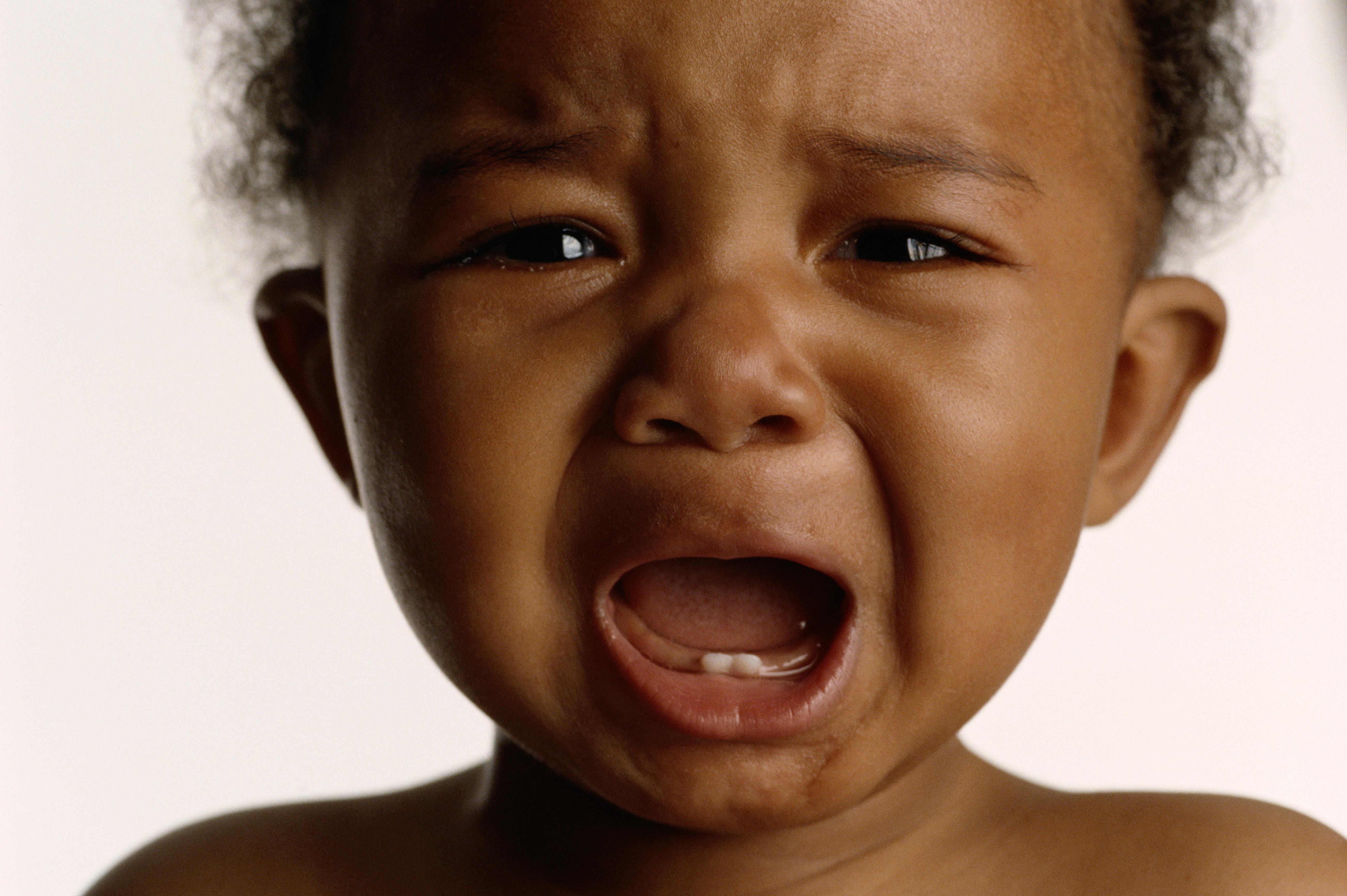 BLACK BABY CRYING