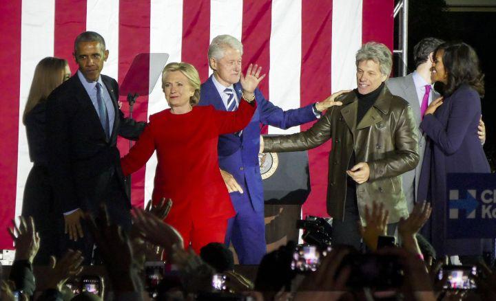 Hillary Clinton's rally in Philadelphia
