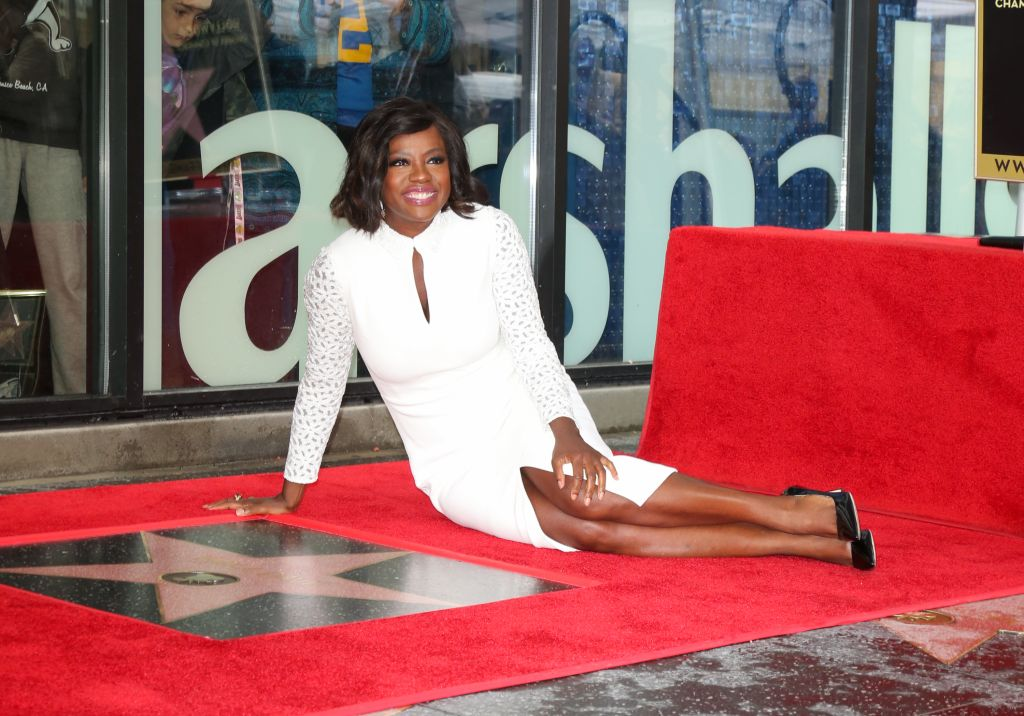 Viola Davis Honored With Star On The Hollywood Walk Of Fame