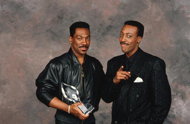 Eddie Murphy & Arsenio Hall at the People's Choice Awards