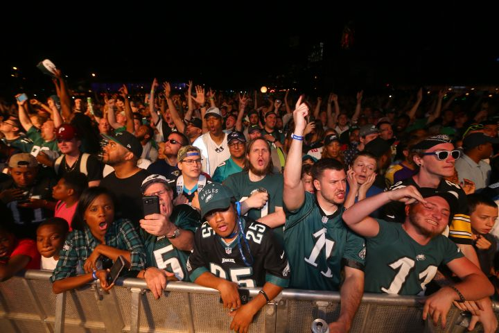 Philadelphia Really Showed Out During The NFL Draft!