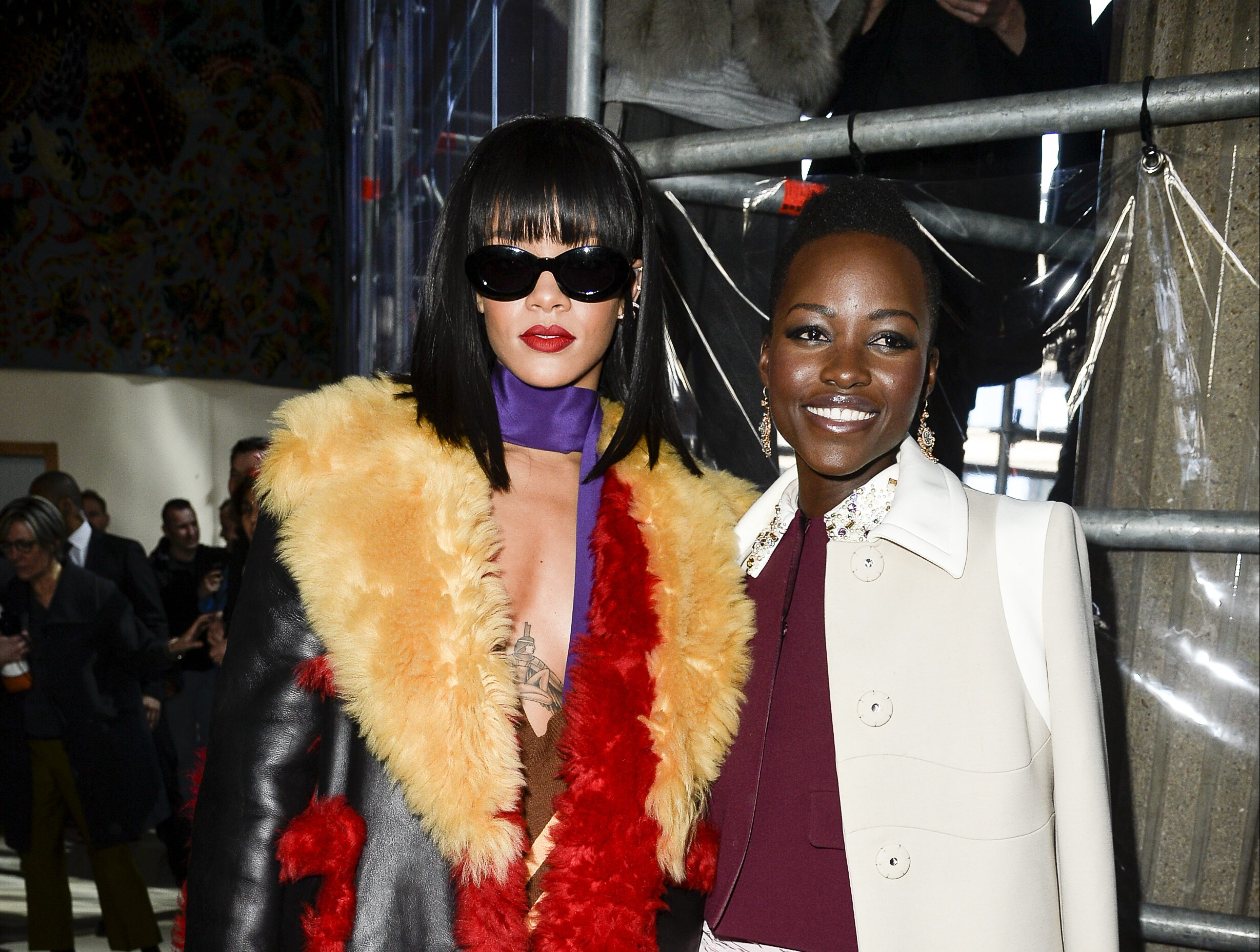 Miu Miu : Front Row - Paris Fashion Week Womenswear Fall/Winter 2014-2015