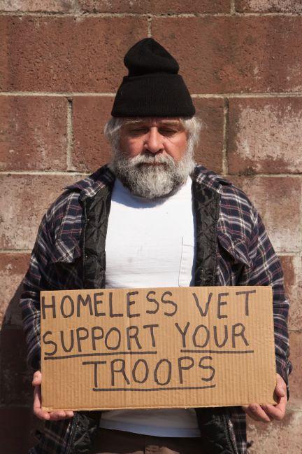 Homeless vet In Need