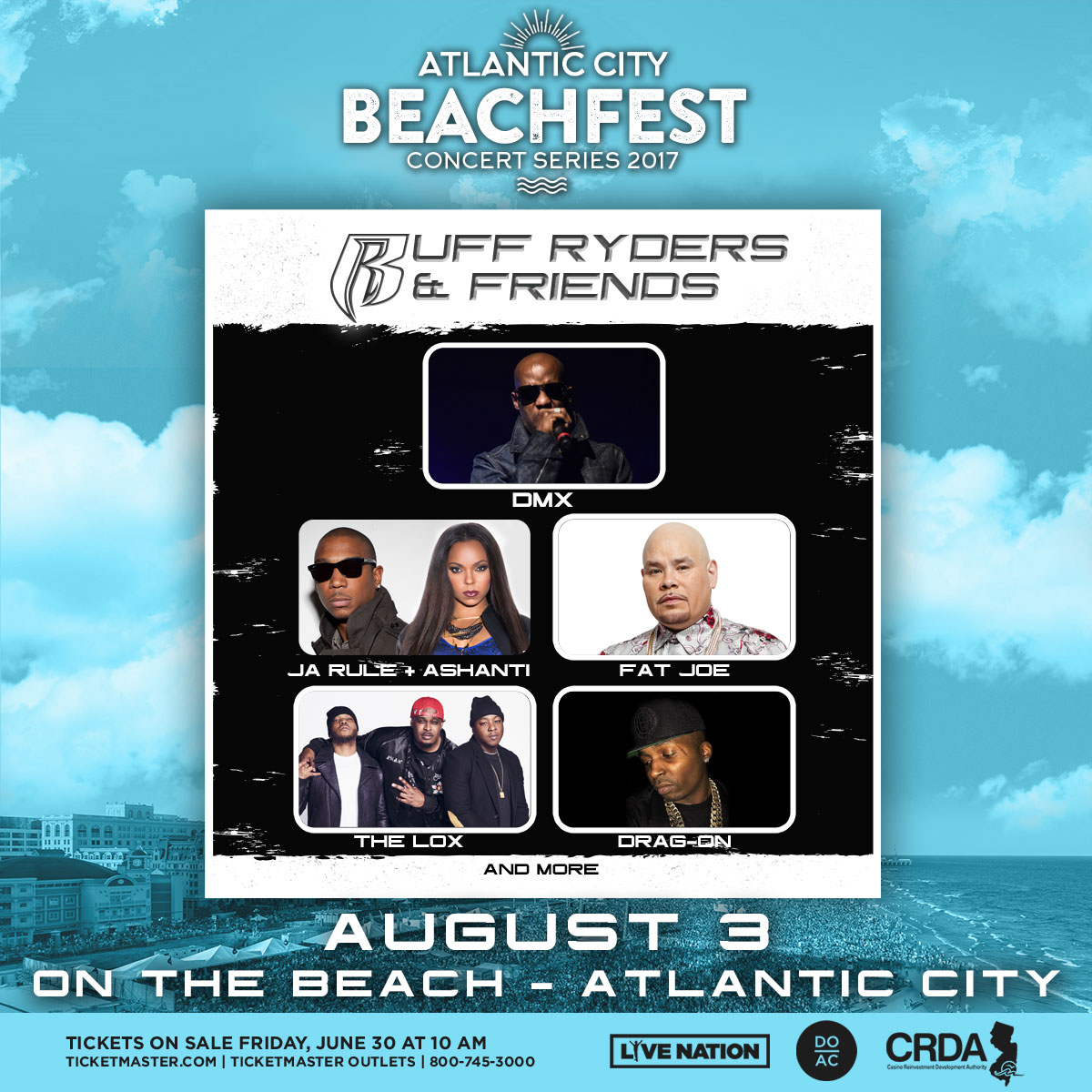 AC Beachfest - Ruff Ryders 2017