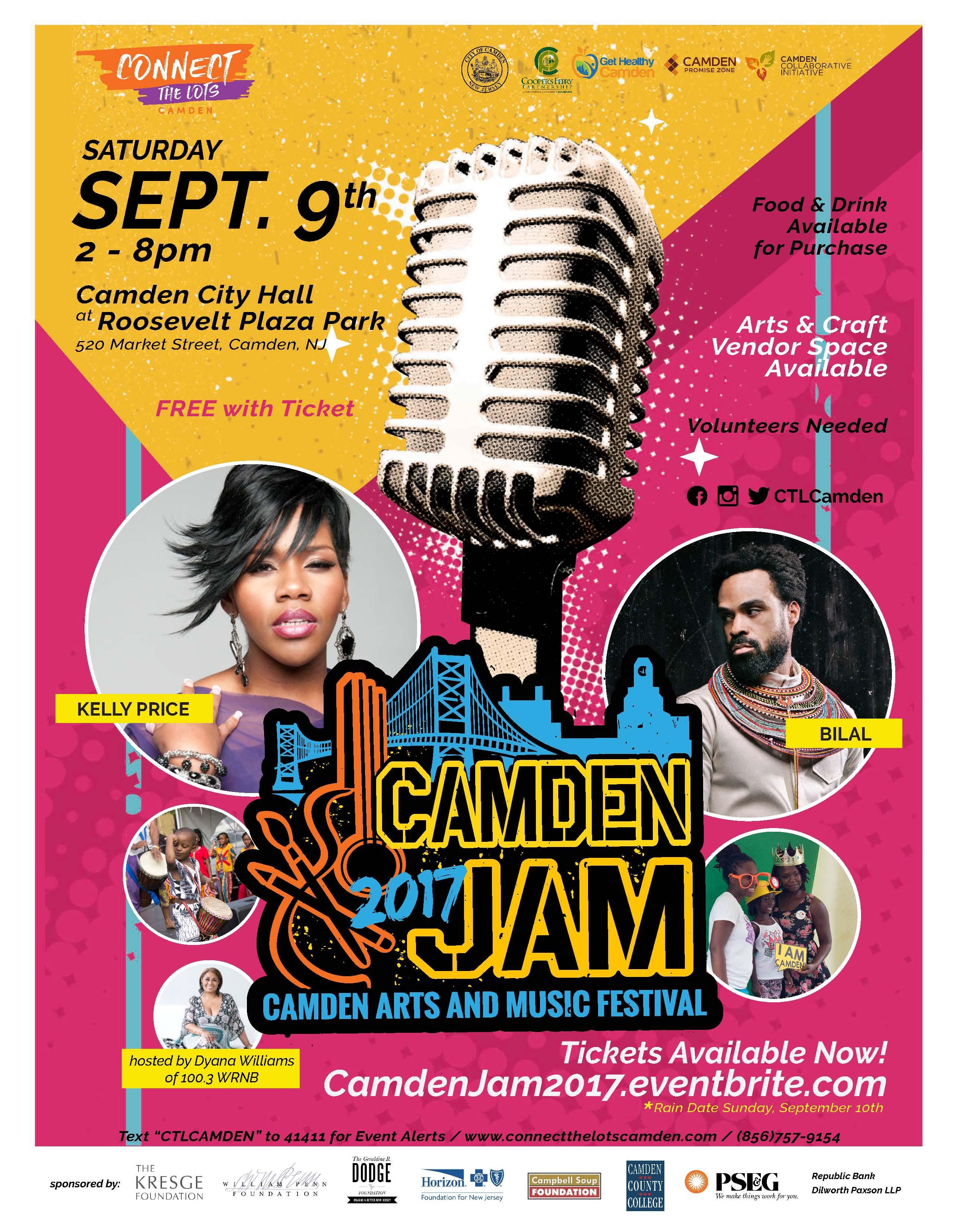 Cooper's Ferry Camden Jam 2017