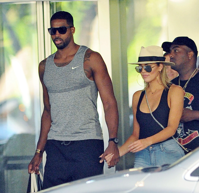 Khloe Kardashian, Tristan Thompsonbcalhounradio12017 NBA Finals - Game FourNew York Knicks v Cleveland Cavaliers