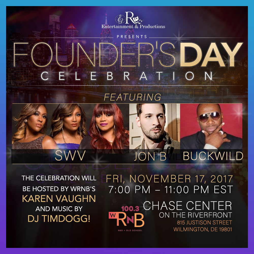 R Productions Founders Day SWV