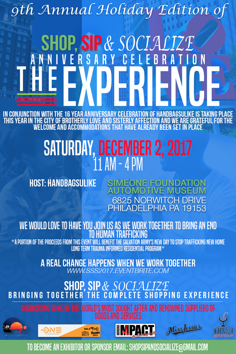 Shop, Sip & Socialize: The Experience