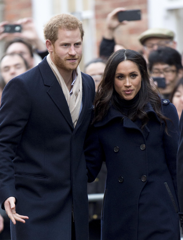 Prince Harry & Meghan Markle Visit Nottingham