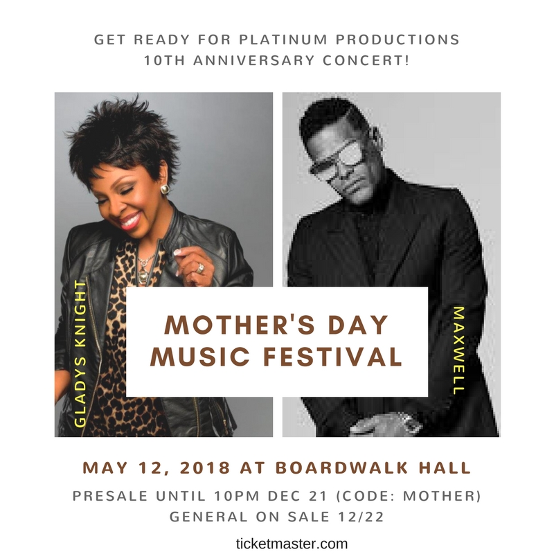 Mother's day music fest - pp shows
