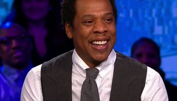 Jay-Z during an appearance on CNN 'The Van Jones Show.'