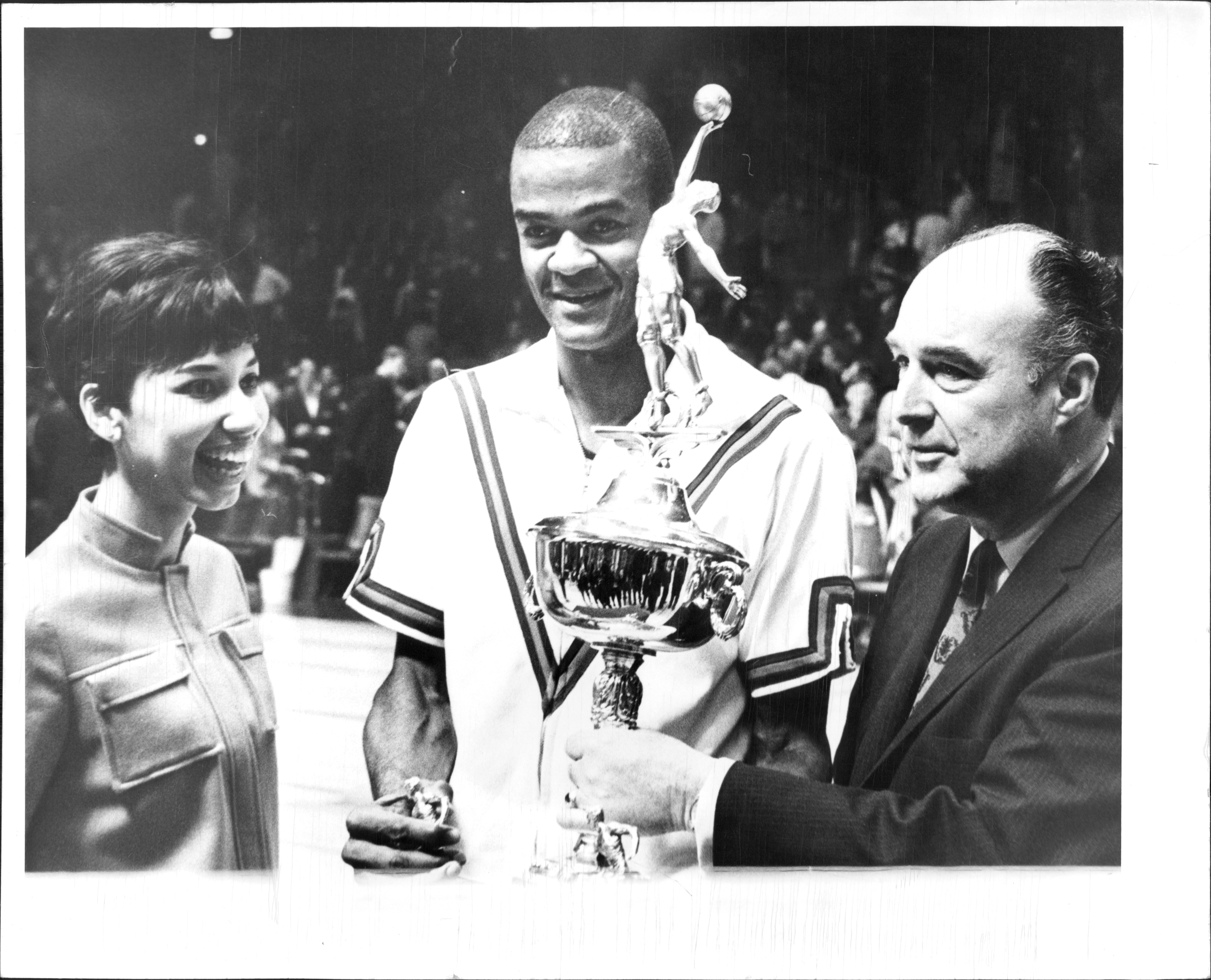 Hal Greer Wins All-Star Game's Most Valuable Player Award