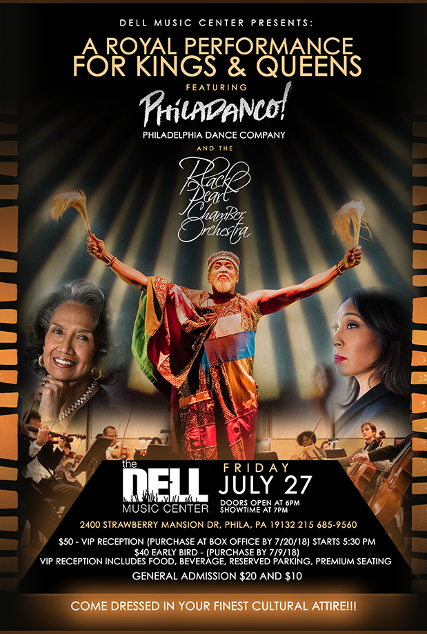 Philadanco & Black Pearl Chamber Orchestra Evening of the Arts