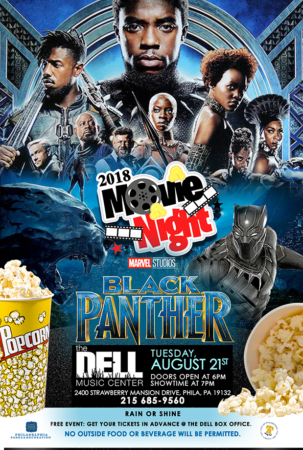 "Movie Night featuring ""Black Panther"""