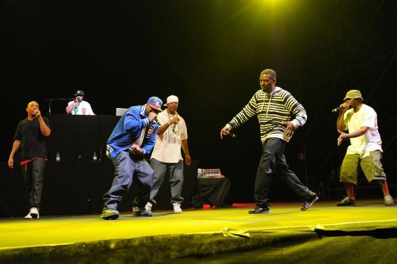 Wu Tang Clan Perform At The Alfa Romeo City Sound