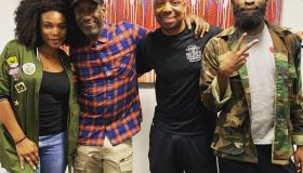 Shawn Stockman and QHMS