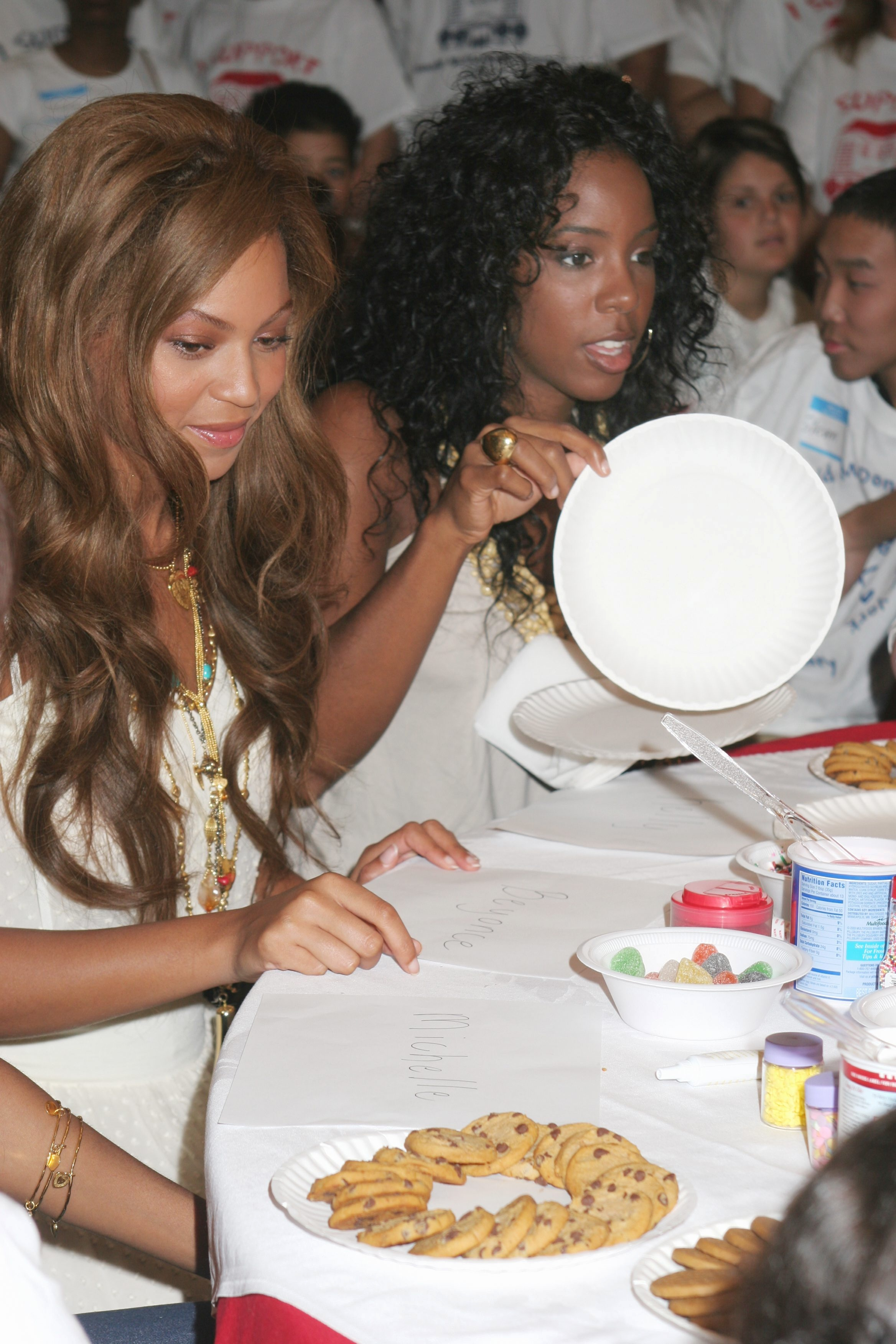 Destiny's Child at Ronald McDonald House in NYC