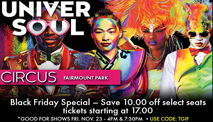 Black Friday Universoul circus