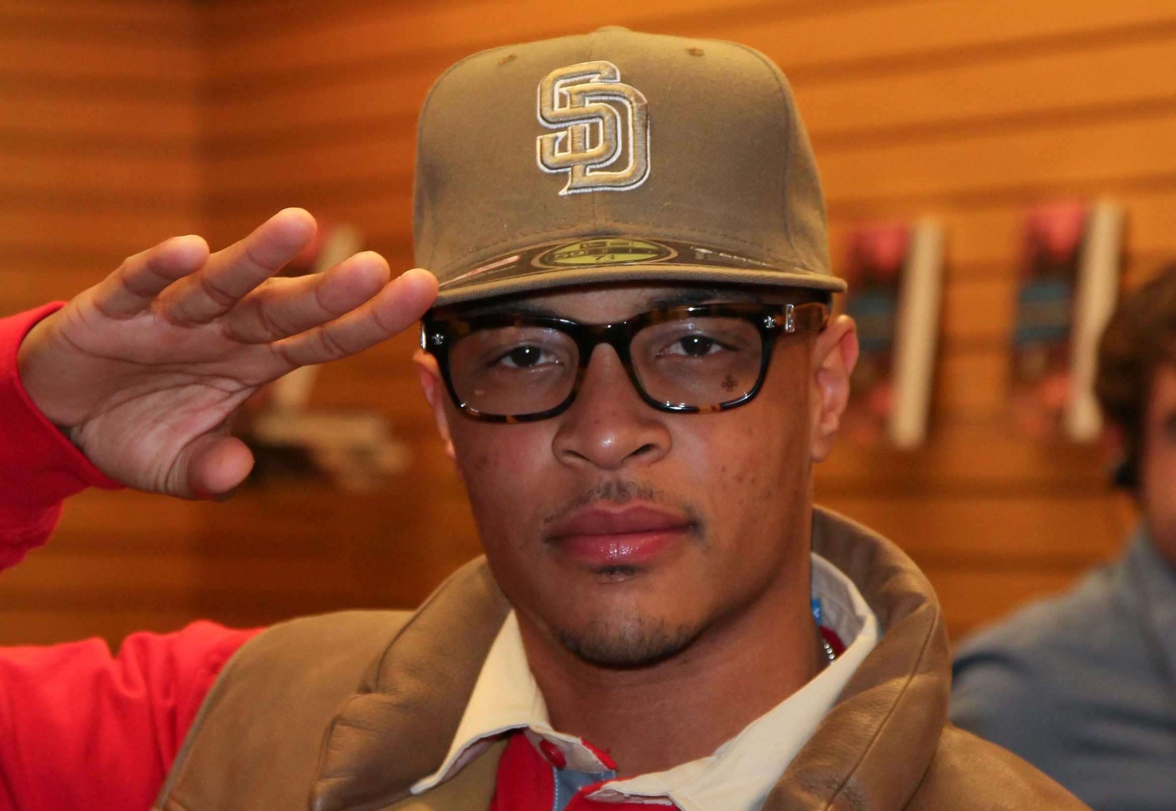 Rapper T.I. Harris Signs Copies Of His New Book 'Power & Beauty'