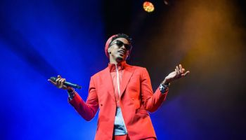 August Alsina Performs At Indigo At The O2 London