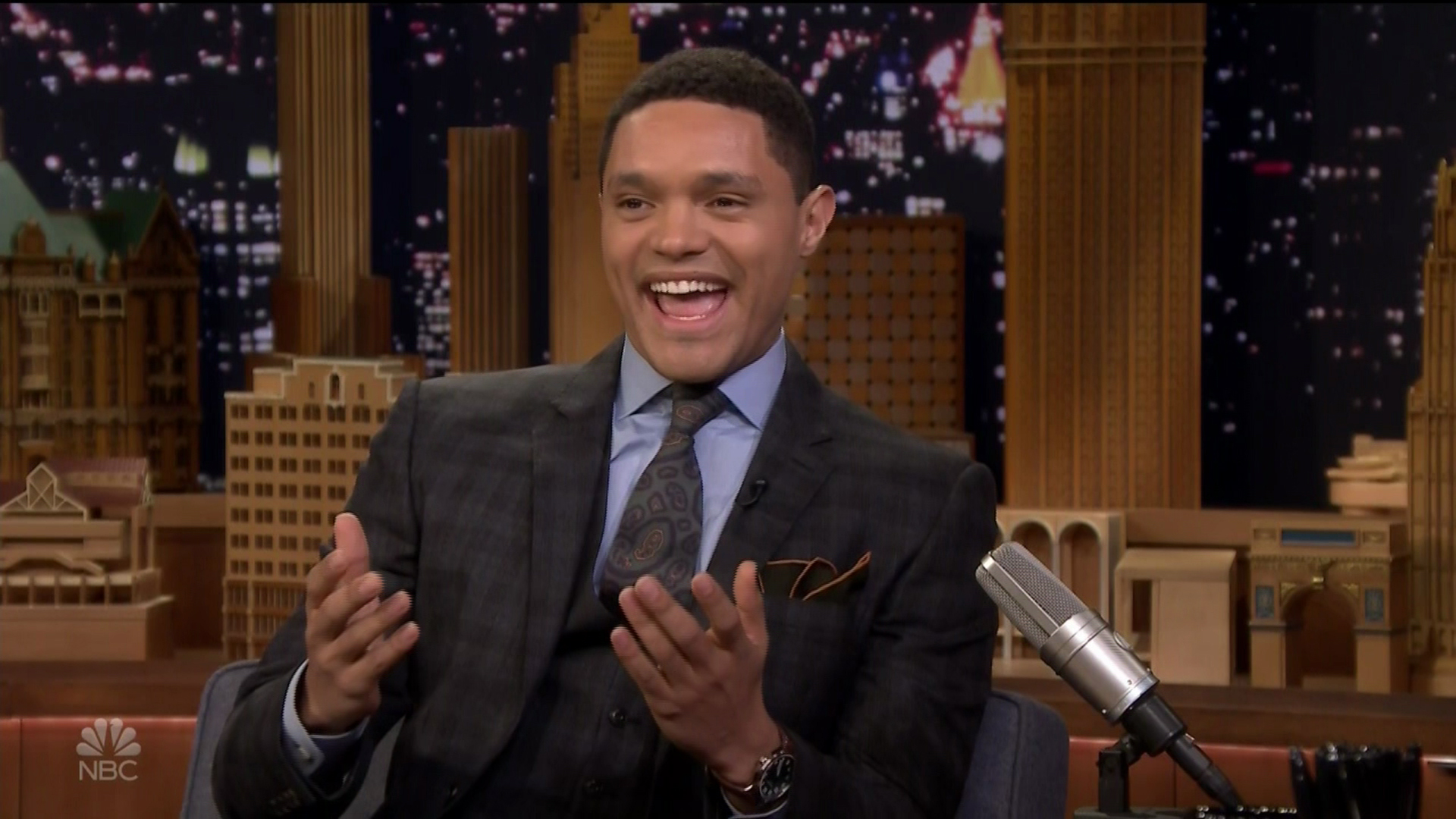 Trevor Noah during an appearance on NBC's 'The Tonight Show Starring Jimmy Fallon.'