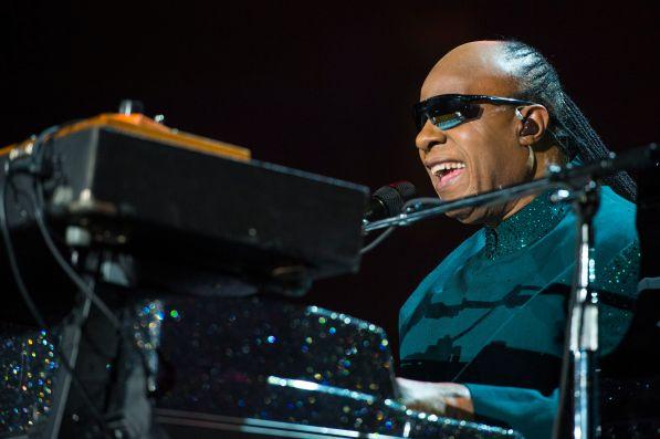 Stevie Wonder at Pepsi Center