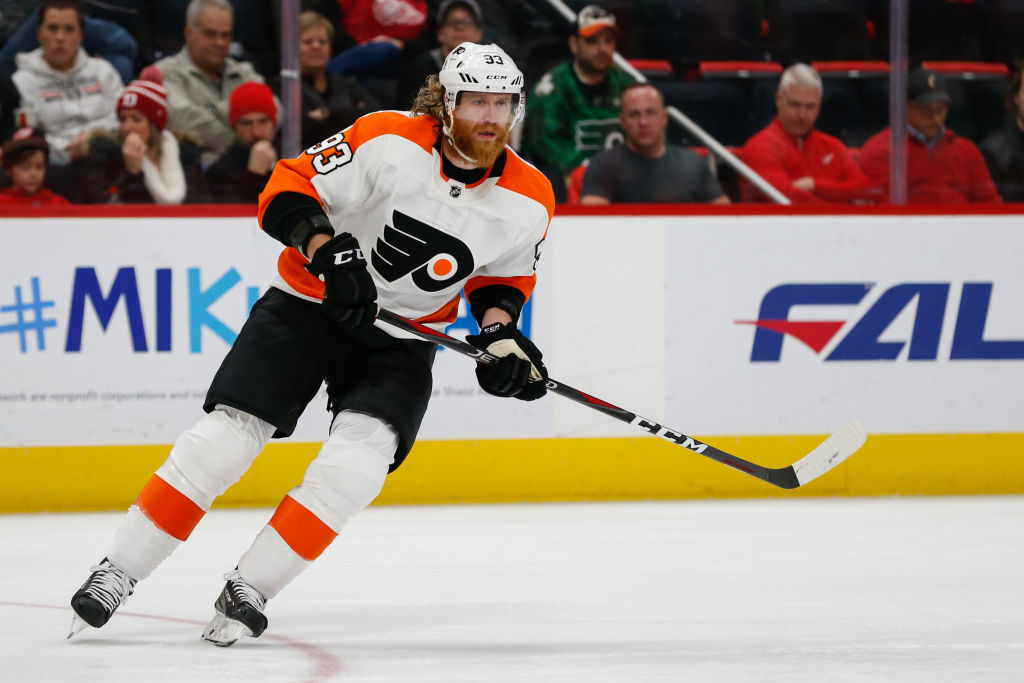 NHL: FEB 17 Flyers at Red Wings