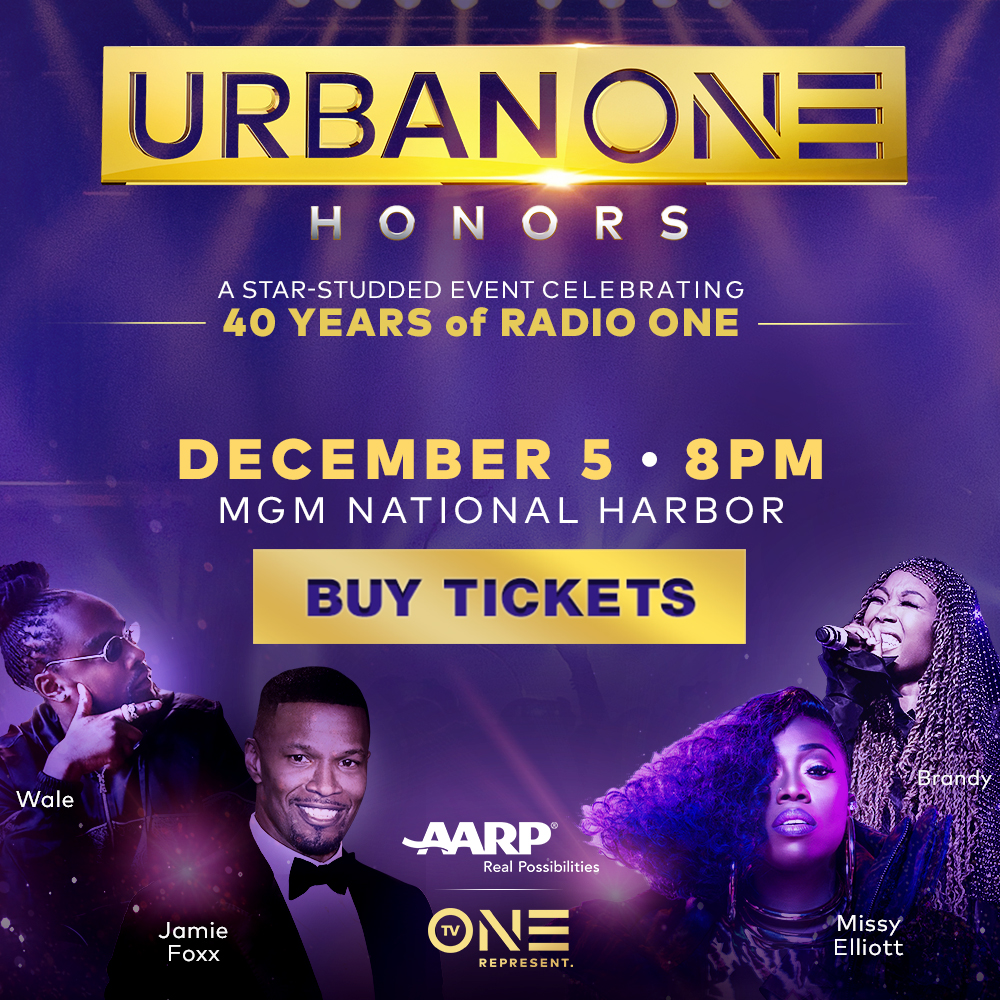 Urban One Honors Banners/Jamie Foxx