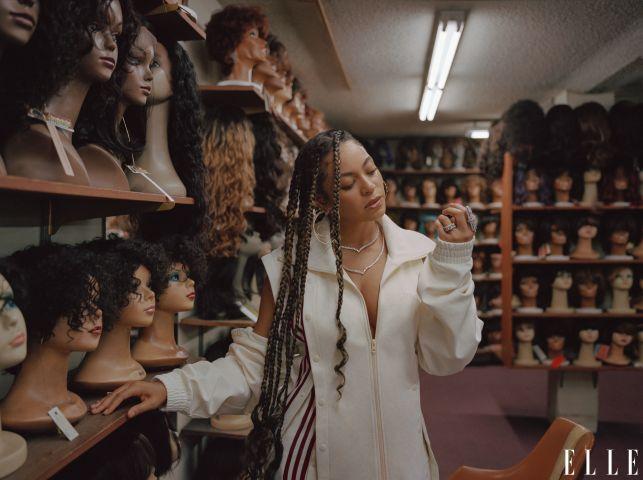 Beyonce- Elle Magazine