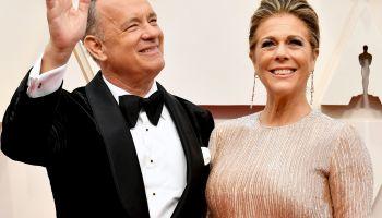 Tom Hanks & Wife Rita Wilson